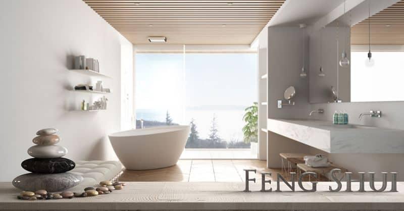 Badezimmergestaltung nach Feng Shui